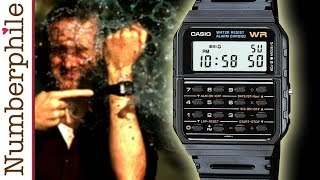 Calculator Unboxing #3 (Casio Watch) - Numberphile