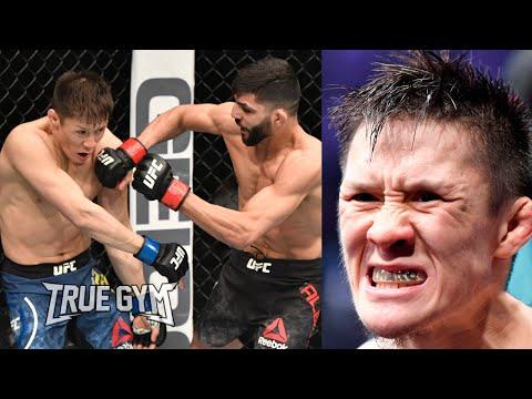 Бой Жалгас Жумагулов - Амир Альбази на UFC 257 / Краткий обзор боя