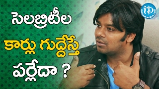 Sudigali Sudheer Clarifies about his Car Incident || Talking Movies With iDream