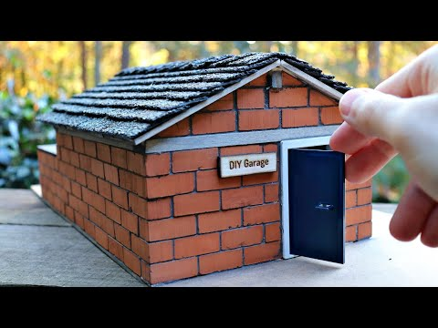 build-a-mini-garage-with-real-bricks---bricklaying-with-mini-bricks