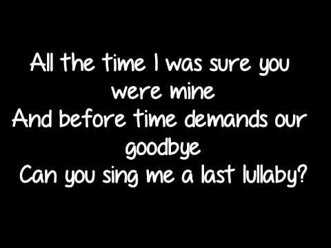Professor Green featuring Tori Kelly - 'Lullaby' Lyrics