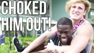 I FOUGHT WITH KEVIN HART! thumbnail