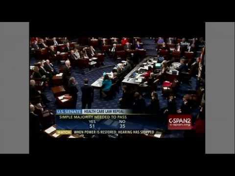 U S  Senate   Senate Democrats unify in Opposition to Obamacare repeal