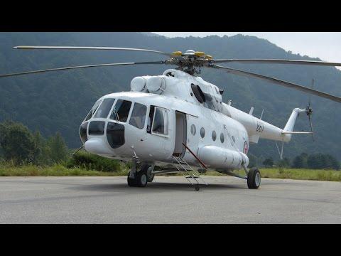 Mil Mi-17 approach landing takeoff @ Hyangsan Heliport / FNJ Pyongyang Airport