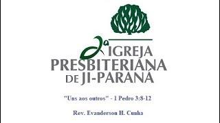 Uns aos outros - 1 Pedro 3:8-12
