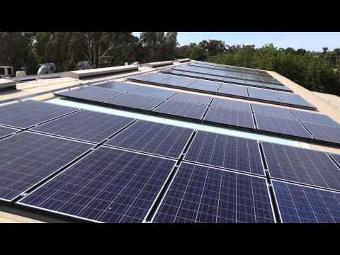 Horsham 70 kw solar panel installation