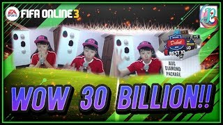 ~Best Diamond Package Man!~ August Diamond Package 2018 Opening - FIFA ONLINE 3