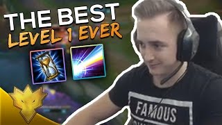 Krepo - THE MOST INSANE LEVEL 1! - League of Legends Stream Highlights & Funny Moments