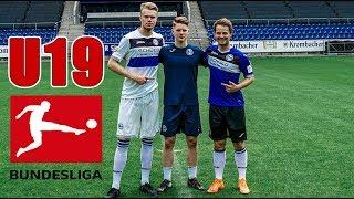 Fussball CHALLENGE gegen U19 BUNDESLIGA SPIELER