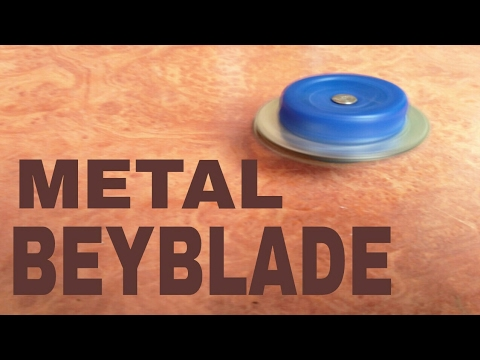 How to make a Homemade  Beyblade | Metal Beyblade | Make Beyblade | DIY