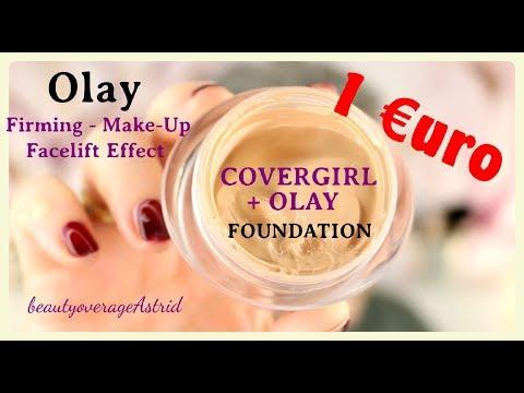 COVERGIRL +OLAY | 1€uro ? Make-Up | Live Demo | Thomas_Phillip_Sonderposten  | BeautyoverageAstrid
