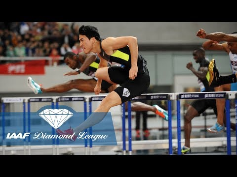 Liu Xiang wins his final race on Chinese soil in Shanghai in 2012 - Flashback