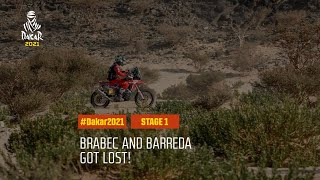 #DAKAR2021 - Stage 1 - Brabec and Barreda got lost!