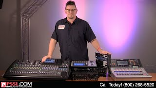 Top 10 Mixers - Digital Mixers 101 : PSSL Explains Basics About Digital Mixers