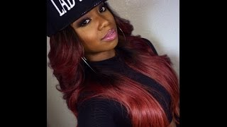 Red Hair Update : Lady Fresh Hair Thumbnail