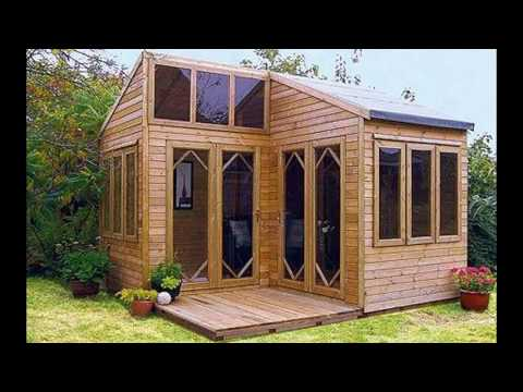 40 idées décoration Maison de jardin bricolage