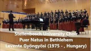 Puer Natus in Bethlehem - Levente Gyöngyösi (1975 - , Hungary)