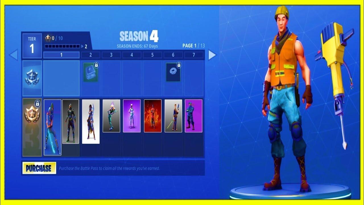 Fortnite Season 6 Battle Pass Skins Emotes Rewards Worth The