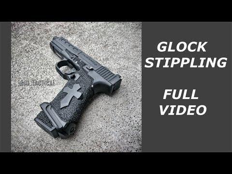 Glock Stippling FULL Video