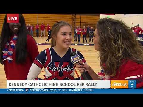 KING 5 Pep Rally 2019 - Kennedy Catholic High School 1