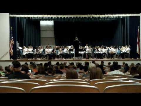 Jemison Middle School Beginner Band 2016-2017
