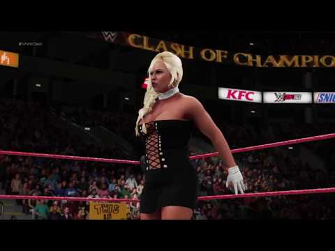 WWE 2K18 - 8 Women// Dress To Impress// Battle Royal for the Classic Women's Championship