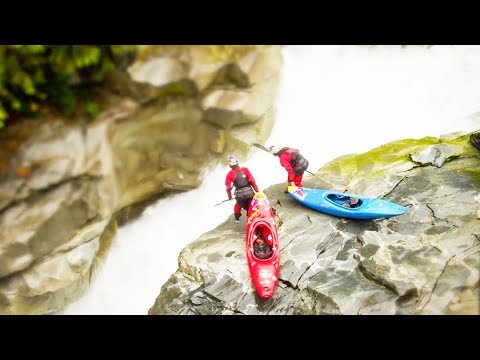 'Tilt-Shift Effect' Drone Shots of Tiny Kayakers in a Tiny World