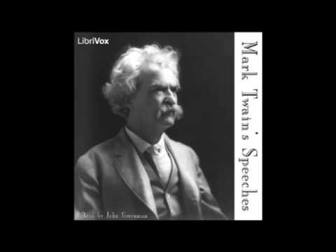 Mark Twain's Speeches63 104Accident Insurance etcread by John Greenman