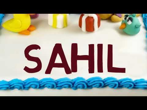 Happy Birthday Sahil