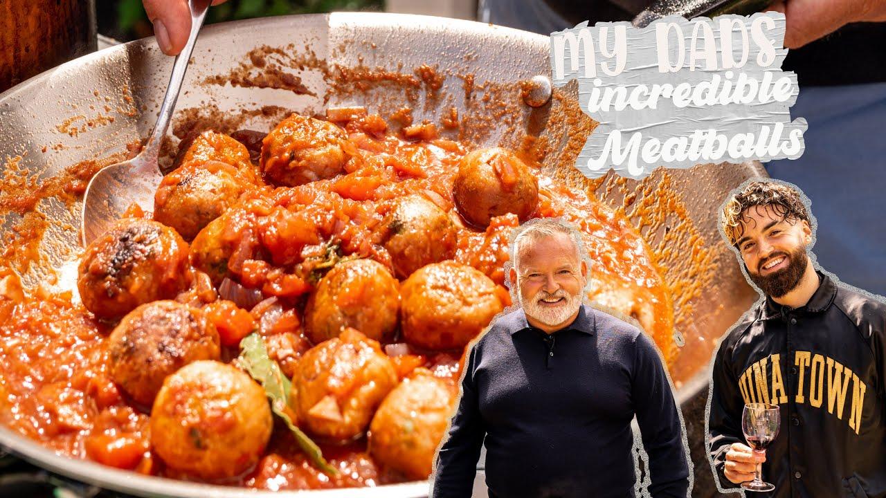 MY DADS INCREDIBLE VEGAN ITALIAN MEATBALLS, easy recipe.