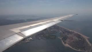 delta md 88 landing at new york lga