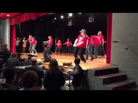 "Teacher dance in the Stewarts Creek Middle School talent show. ""Watch Me"""