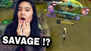 PACARKU TERKEJOET !! PAKE SKIN BARU LESLEY LANGSUNG SAVAGE !!?  - Mobile Legend Indonesia