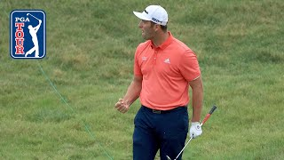 Jon Rahm assessed twostroke penalty after chipin at the Memorial