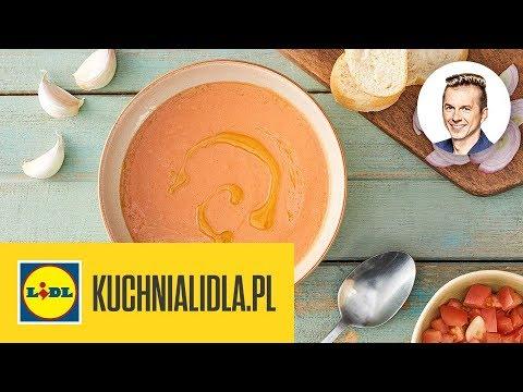 Gazpacho Z Pomidorów Malinowych Karol Okrasa Kuchnia Lidla