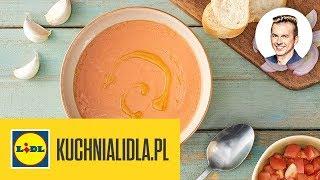 GAZPACHO Z POMIDORÓW MALINOWYCH  | Karol Okrasa & Kuchnia Lidla