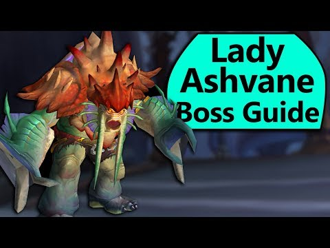 Lady Ashvane Guide - Normal/Heroic Lady Ashvane Eternal Palace Boss Guide