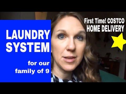 LARGE FAMILY LAUNDRY {week of Feb 5, 2018}