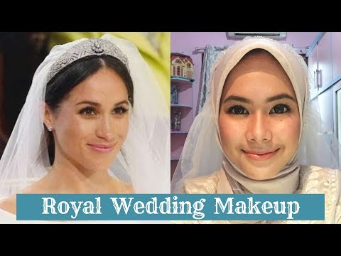 Meghan Markle's Royal Wedding Inspired Makeup (hijab Version)