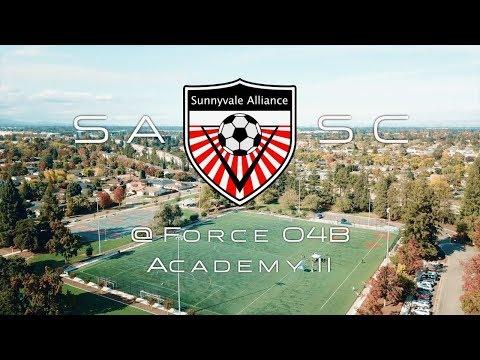 2017-11-11 Sunnyvale Alliance 04B Red vs Force 04B Academy II