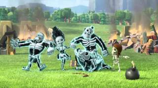 Clash of Clans - Shocking Moves Official TV Commercial