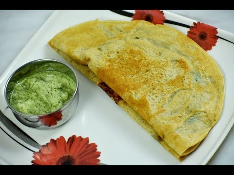 Instant Wheat Dosa | Godhi Dose Recipe | Wheat Dosa Recipe | Wheat Flour Dosa