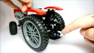 как сделать трактор из лего