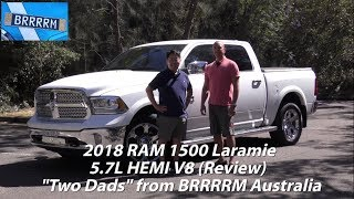 "2018 RAM 1500 Laramie 5.7 HEMI V8 (""Two Dads"" Review) 