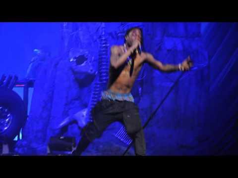 Travis Scott - Antidote Live At Barclays (Rihanna's Anti World Tour) 3/30/16