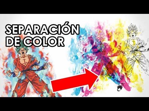 Separación de color (MODO CMYK) en CorelDraw X7 - Serigrafía