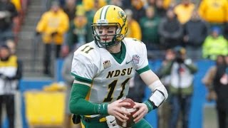 Carson Wentz North Dakota State vs Montana 2015