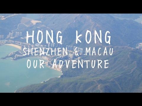 Hong Kong, Shenzhen & Macau: Our Adventure [4K]