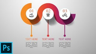 photoshop CC Tutorial | 3D Graphic Design | Infographic Design