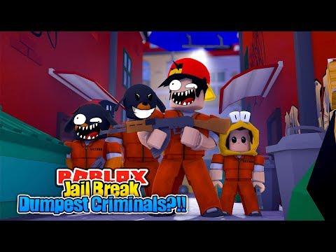 ROBLOX - JAIL BREAKS DUMBEST CRIMINALS!!